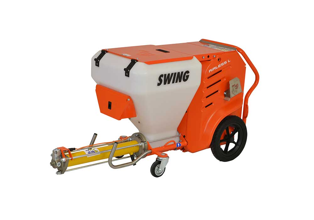 Swing Airless conveying pump