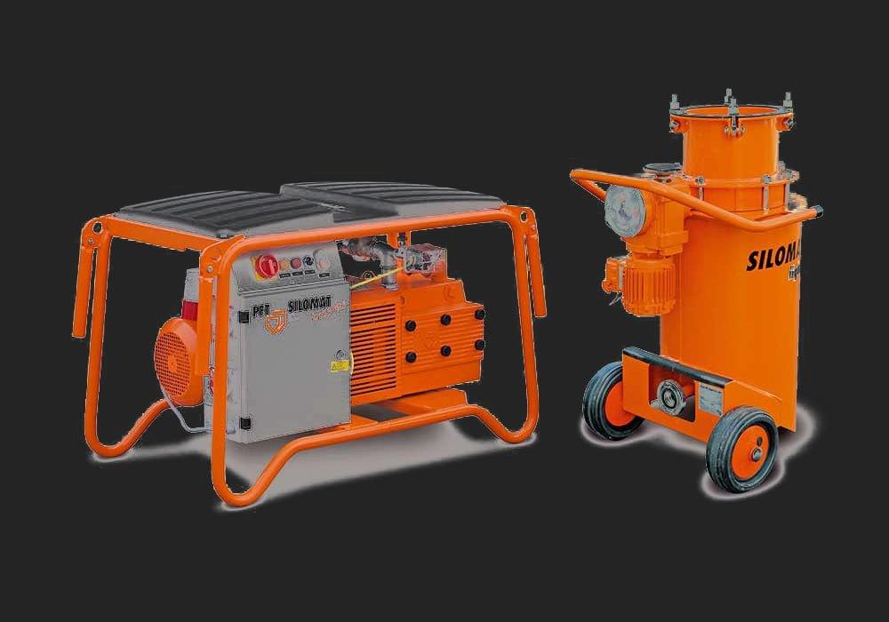 Silomat 140 PFT machine