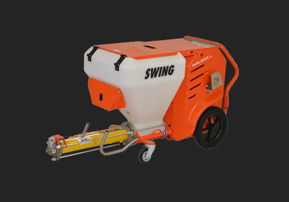 Swing Airless PFT machine