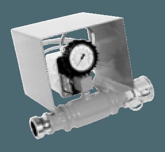 PFT mortar pressure control gauge with pressure switch-off device Ø 35 mm 00 00 15 00 Ø 50 mm 20 21 73 01