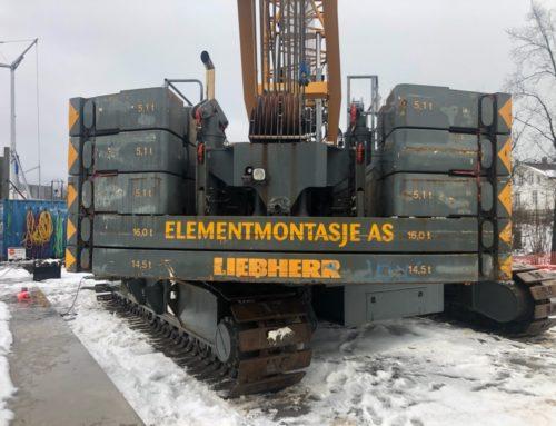 ZP3 M betongpumpe til Betongelementer AS!