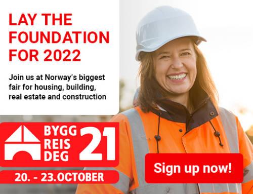 We're going to Bygg Reis Deg 2021